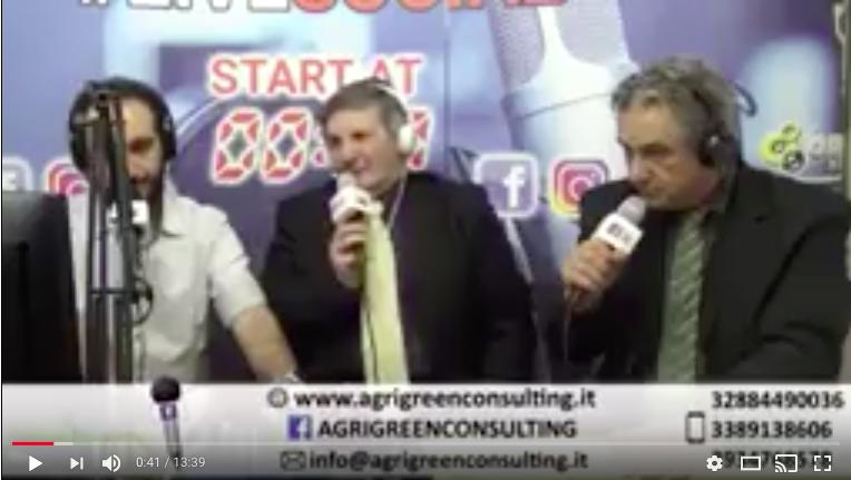 AgrigreenConsulting – Intervista Radio Radio