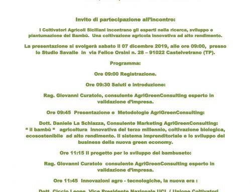 CONVEGNO Castelvetrano: 07/12/2019 – Presentazione